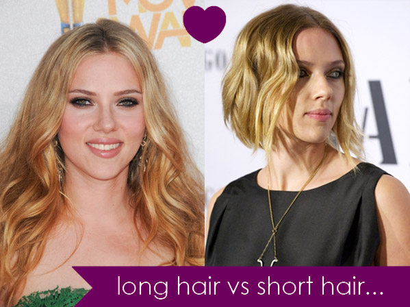 Short hair vs long hair which is sexier
