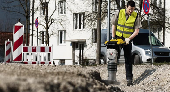 Compacting Small Areas- Jumping Jack Compactor Or Plate