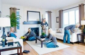 Living Room vs. Bedroom Cleaning