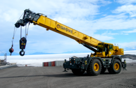 All Terrain Crane Or Crawler Crane