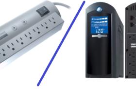 Surge Protector or Ups PC Backup Power Supply