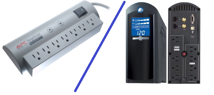 surge protector or ups pc backup power supply compare factory
