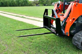 Tractor Attachments – Bale Spear Or Bed Shaper