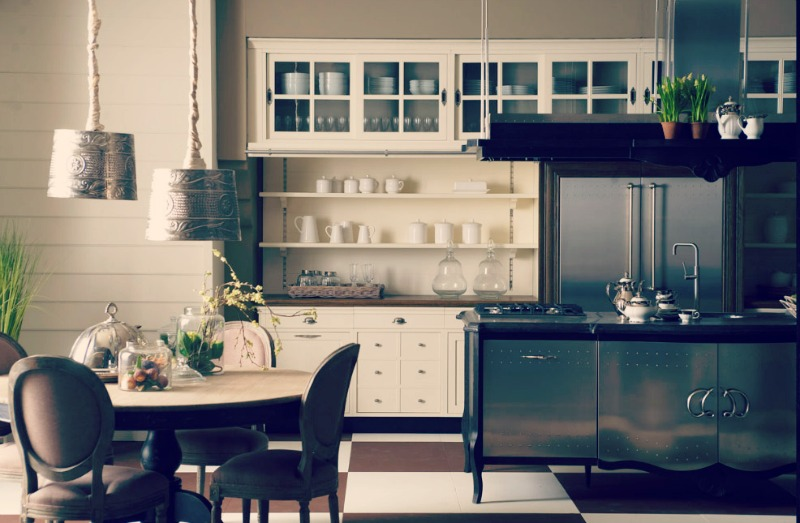 Antique-Or-Contemporary-Kitchen-Style
