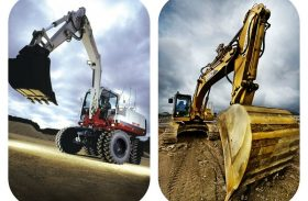 Tracked Or Wheeled Excavator- Not A Simple Choice