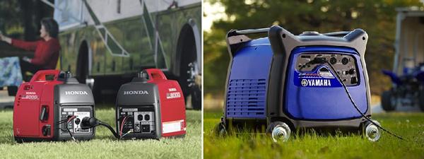 Yamaha inverter generator vs honda