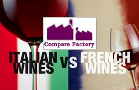 French VS. Italian Wine