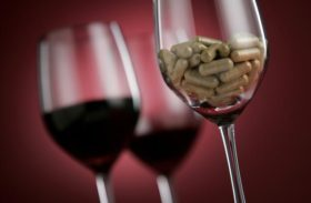 Red Wine vs. Resveratrol Pills
