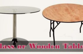 Hallway Tables: The Wood vs Glass Fable