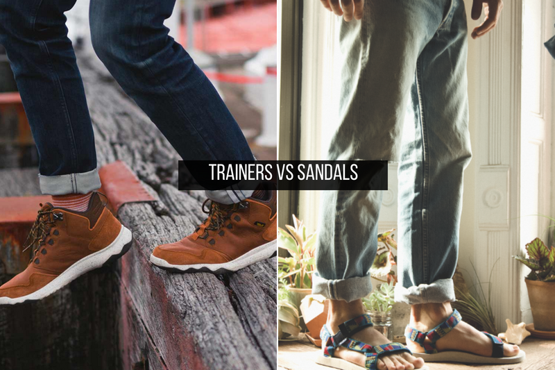 Trainers VS Sandals