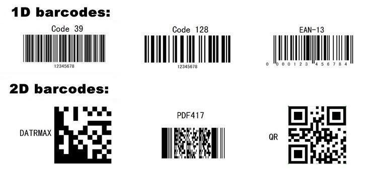 1d barcode vs 2d
