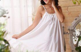 Cotton vs. Silk vs. Polyester Women's Nightwear