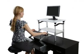 Computer Screen Ergonomics: Monitor Risers Vs. Monitor Arms