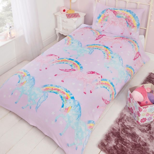 hore-riding-presents-bed-cover-set