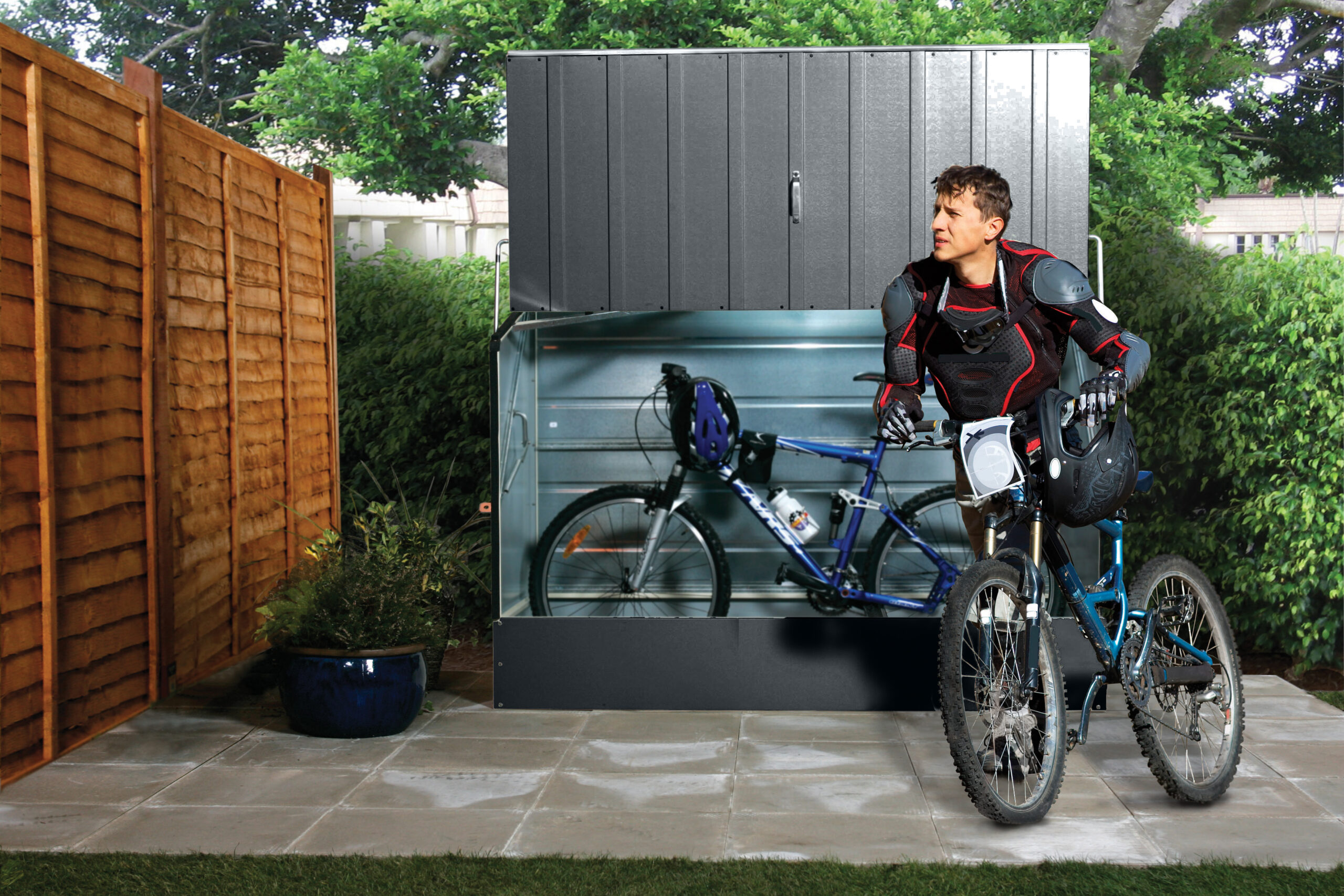 Bike Storage: Sheds or Racks and Stands?