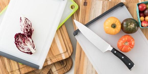 Plastic kitchen boards
