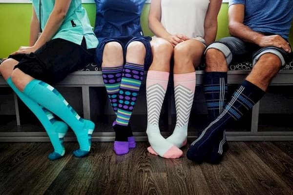 compression socks men vs women
