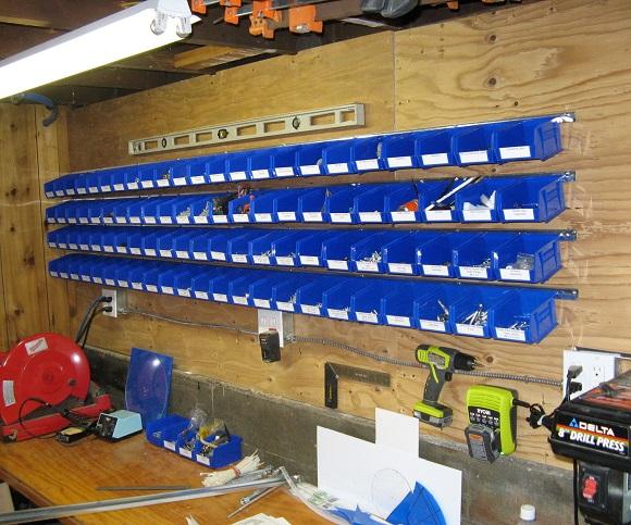 parts storage bin