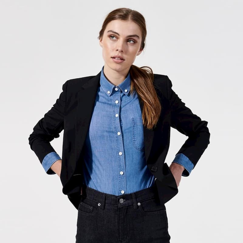 professsional attire for a young woman