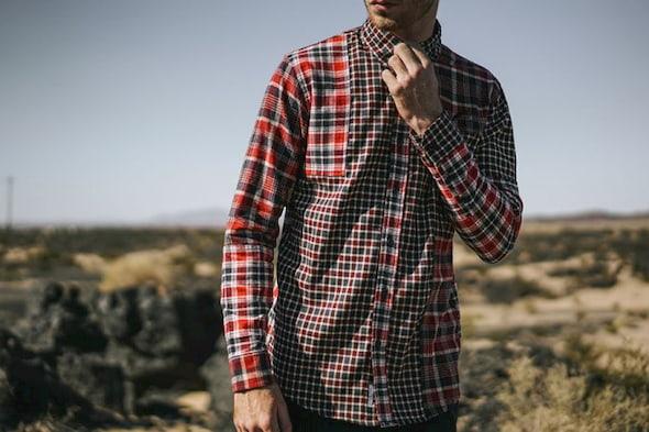 cotton plaid shirt