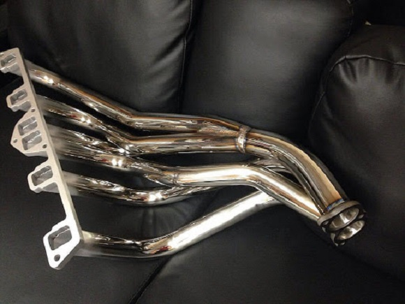 header-back exhaust system