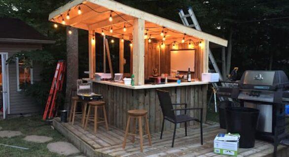 Outdoor Home Bar: Indoor vs Outdoor Bar Fridges