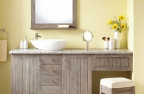 Bathroom Storage: Cabinet or Vanity?