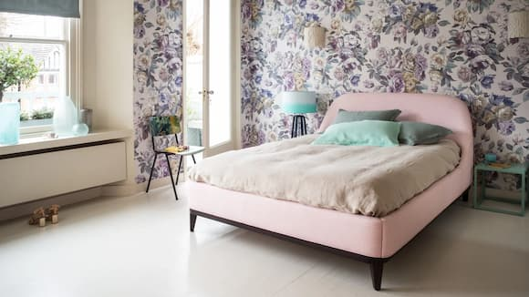 floral_wallpaper_bedroom