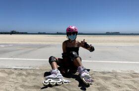 Girls on Wheels: Rollerblades Vs. Skateboards