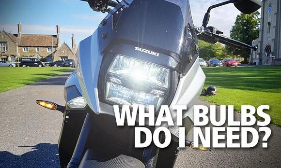 Bulbs motorbike