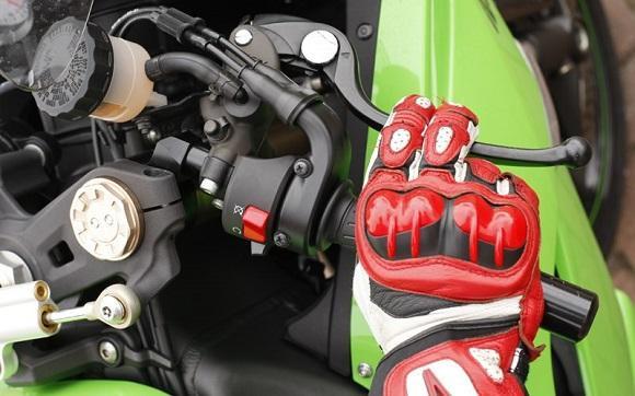 motorbike controls