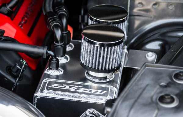 close up of performance turbocharger