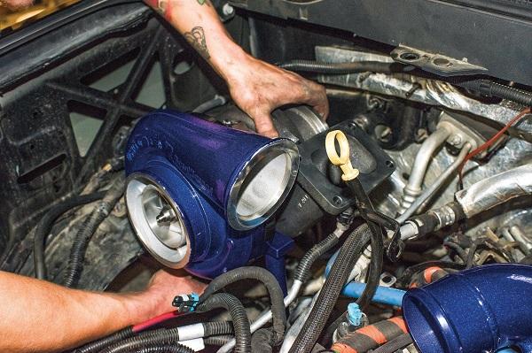 installing turbocharger