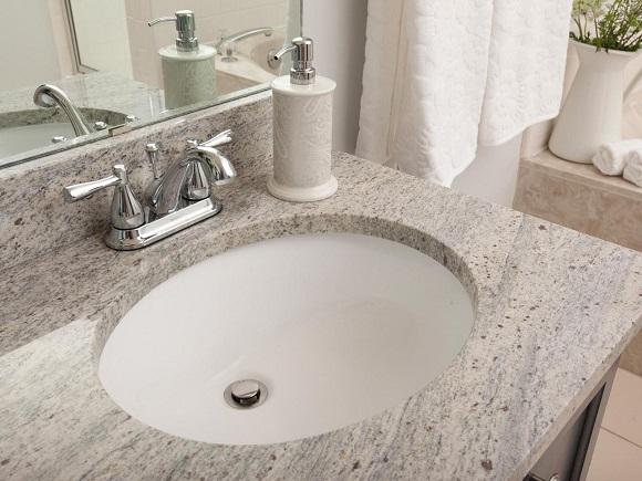 undermount marble basin