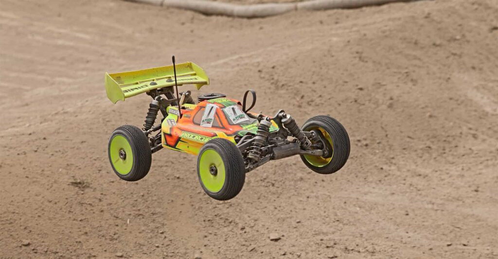 electric-powered RC car
